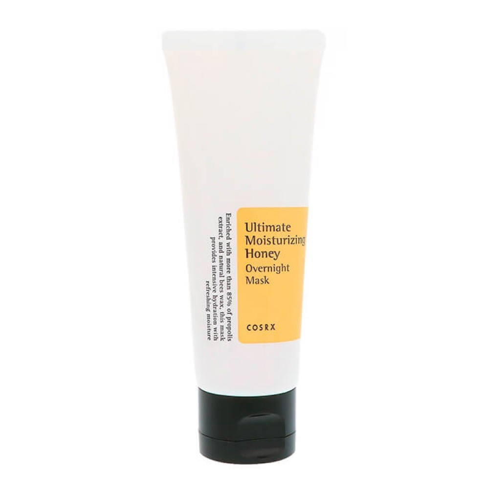CosRX Ultimate Moisturizing Honey Overnight Mask - медовая ночная маска для лица;