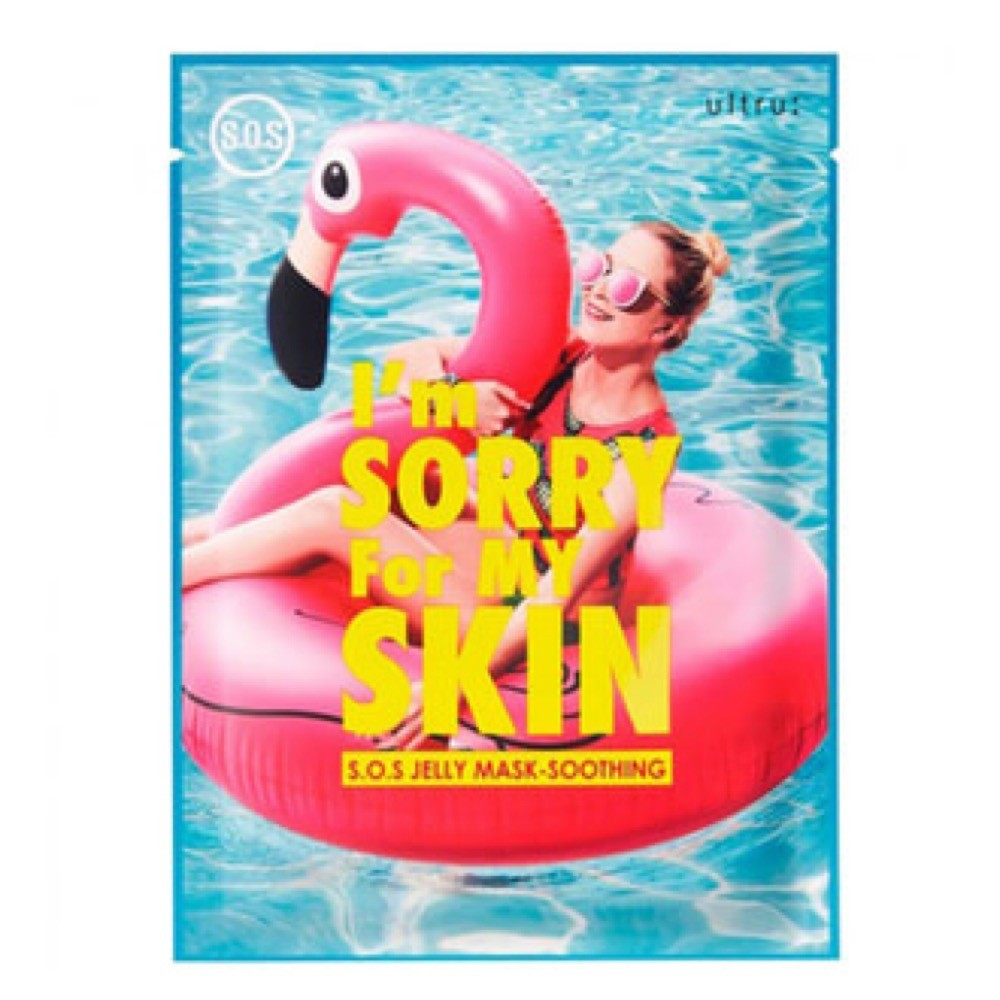 I'M SORRY FOR MY SKIN S. O. S. JELLY MASK SOOTHING -  УСПОКАИВАЮЩАЯ МАСКА ULTRU;