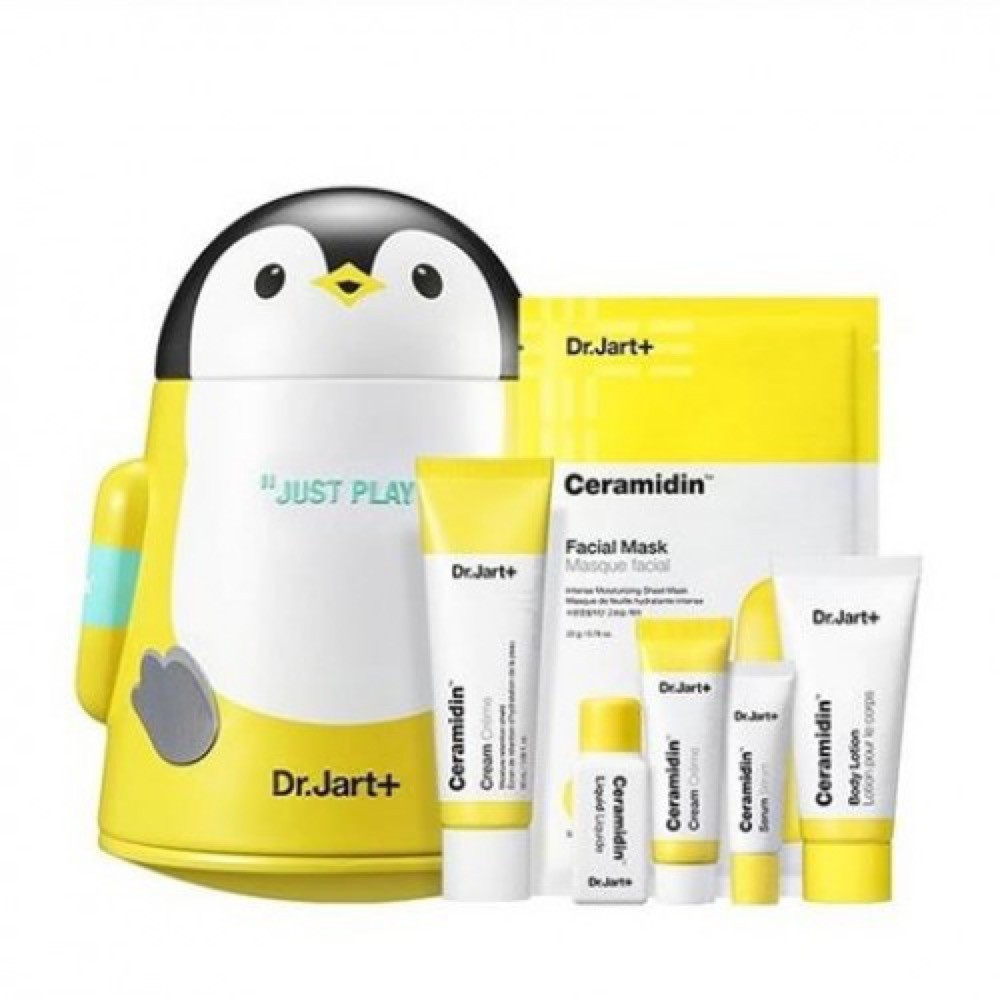 DR.JART+ CERAMIDIN CREAM JUST PLAY SET - набор с керамзитами;