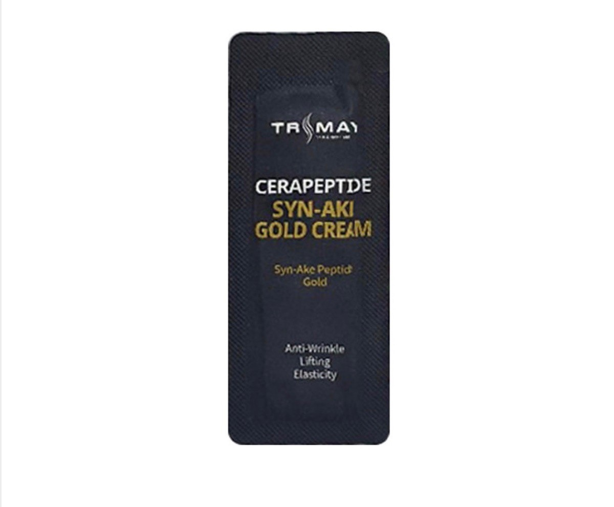 Trimay Cerapeptide Syn-Ake Gold Cream - крем с керамидами и пептидом змеиного яда;