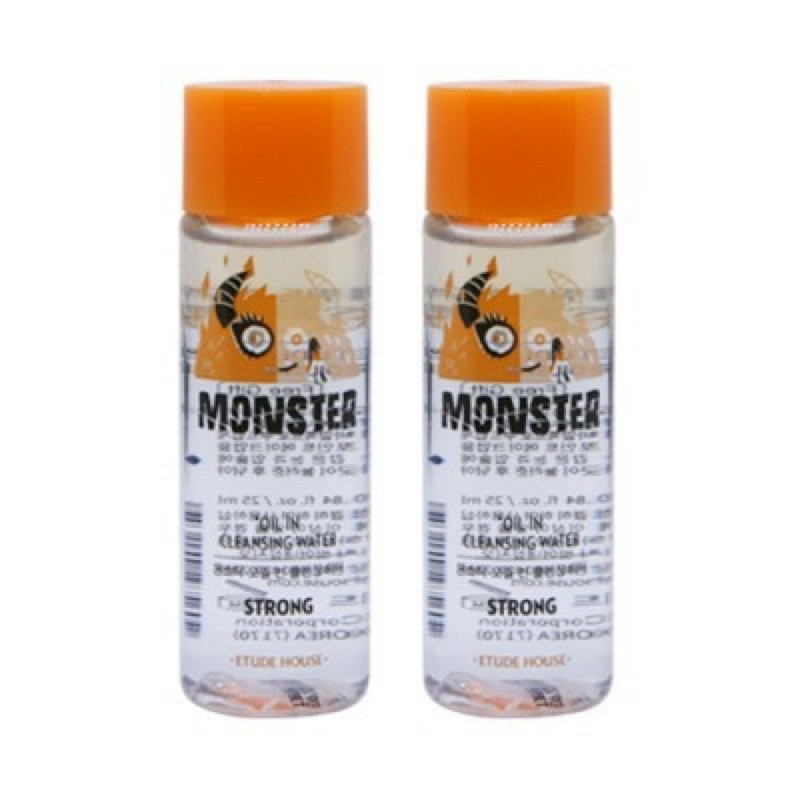 ETUDE HOUSE MONSTER OIL IN CLEANSING WATER STRONG - мицеллярная вода;