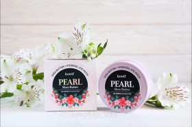 KOELF Pearl & Shea Butter Eye Patch - гидрогелевые патчи для глаз с жемчугом